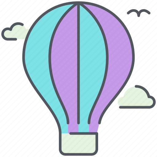 airballoon, amusement, city, recreation, transportation icon