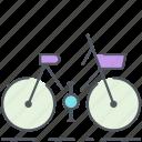 bicycle, bike, city, city bike, eco, transportation, urban icon
