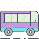 bus, city, public transport, transportation, urban, vehicle icon