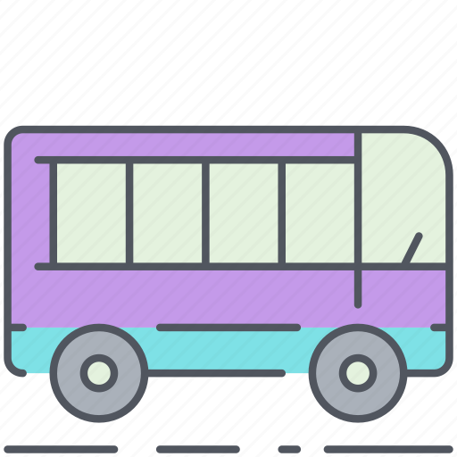 bus, city, public transport, transportation, urban, vehicle icon