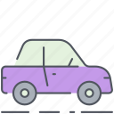car, city, drive, transportation, vehicle icon