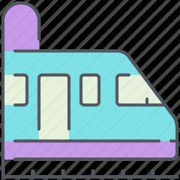 city, metro, train, tram, transportation, tunnel, vehicle icon