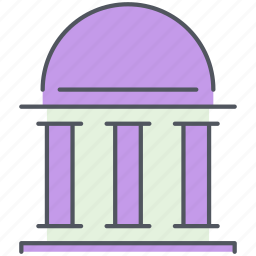 baroque, building, city, monument, structure icon