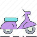 bike, city, motorbike, scooter, transportation, urban, vehicle icon