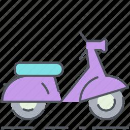 bike, city, motorbike, scooter, transportation, urban, vehicle icon