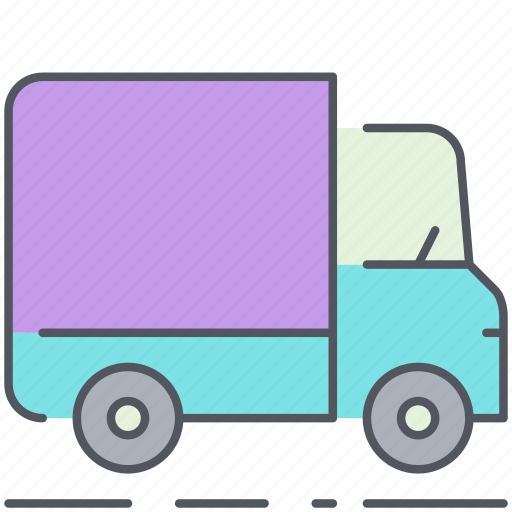 city, delivery, lorry, transportation, truck, vehicle icon