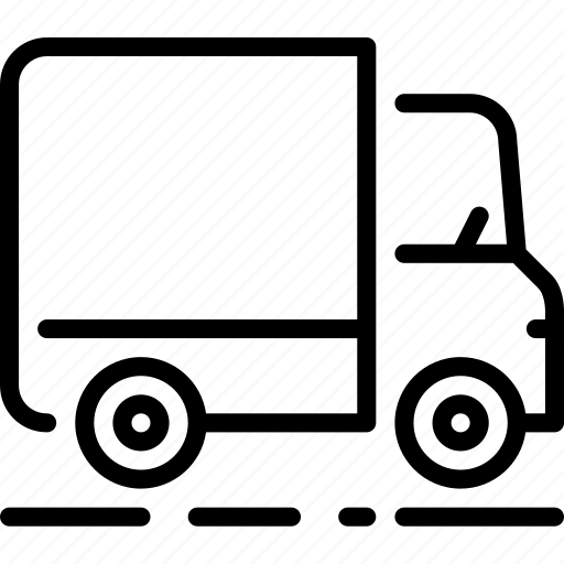 city, drive, transportation, truck, vehicle icon