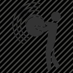 cymbal, lound, music, musician, percussion, rythm, sound icon
