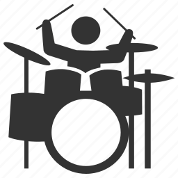 concert, drum, drum set, drums, music, percussion, song icon
