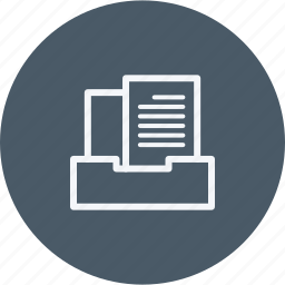 archive, business, cabinet, data, document, file, oofice icon