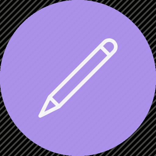 education, pen, pencil, sign icon