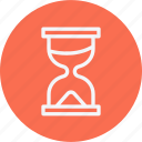 clock, sand, sign, time, watch icon