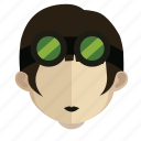 avatar, bike, face, girl