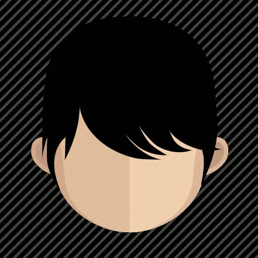 african, avatar, face, guy, hair icon