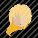 avatar, blonde, face, girl