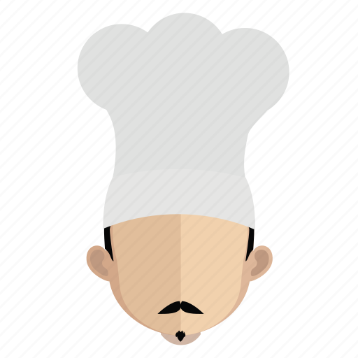 avatar, chef, face, guy icon
