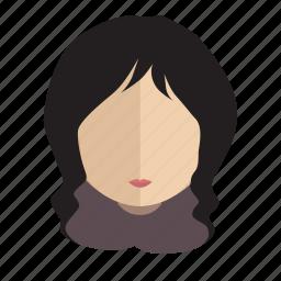 avatar, classy, face, girl icon