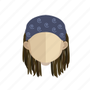avatar, dread, face, guy icon