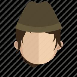 avatar, face, guy, navy icon