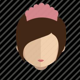 avatar, face, girl, nunny icon