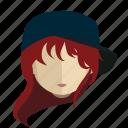 avatar, face, girl, tomboy
