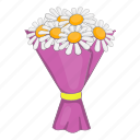 blossom, bouquet, cartoon, flowers, nature, object, sign icon