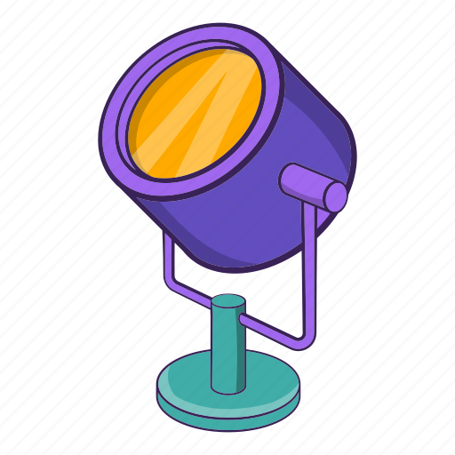 Cartoon, concept, electricity, inspiration, object, sign, spotlight icon - Download on Iconfinder