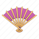 cartoon, design, fan, japan, japanese, object, sign icon