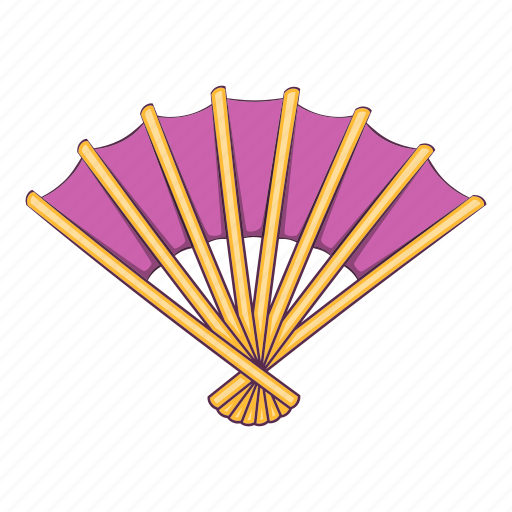 Cartoon, design, fan, japan, japanese, object, sign icon - Download on Iconfinder