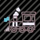 locomotive, steam, train