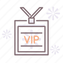 pass, ticket, vip icon