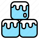 cold, cool, cure, ice, intumesce, melt, pain icon