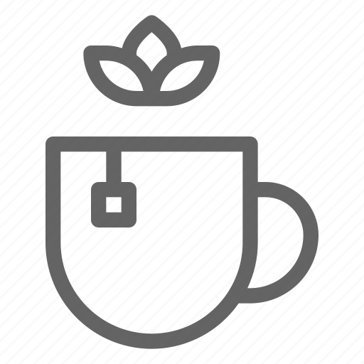healthy, herbal, natural, tea icon