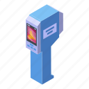 business, cartoon, geodetic, imager, isometric, medical, thermal icon