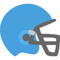 football, hat, head, helmet, protection, sport icon