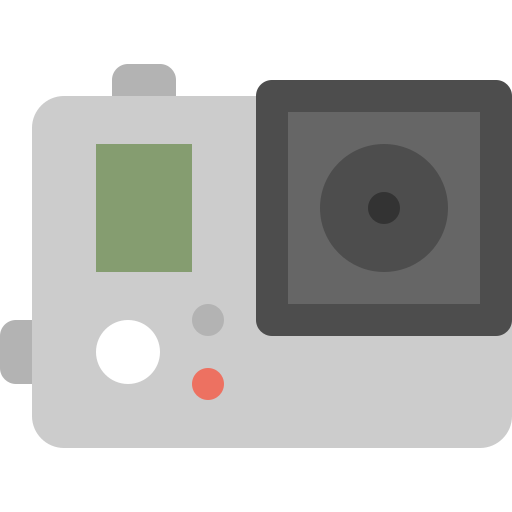 camera, capture, gopro, hd, record, video icon
