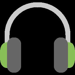 audio, big, headphone, music, sound icon