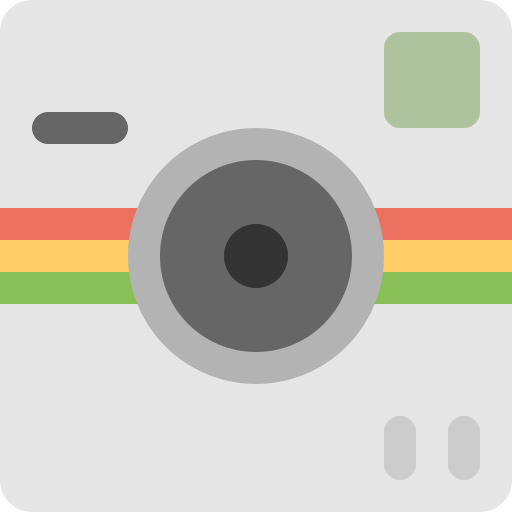 camera, mobile, photo, polaroid, socialmatic, video, wireless icon