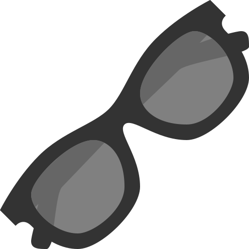accessories, clothes, eyes, hipster, protection, sunglasses icon