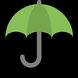 forecast, protection, rain, umbrella, weather icon