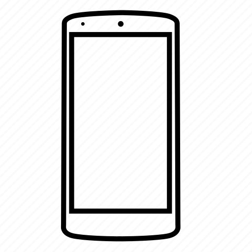 cell, device, mobile, phone, screen, smartphone, telephone icon