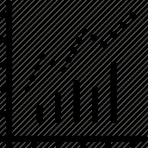 Bar, chart, line icon - Download on Iconfinder on Iconfinder