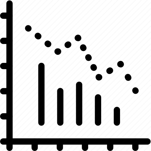 bar, chart, line icon
