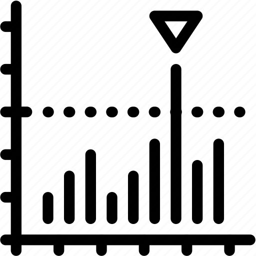 bar, chart, value icon