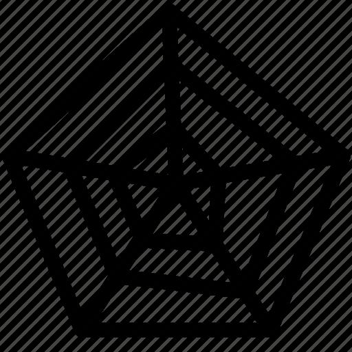 Chart, radar, spyder, web icon - Download on Iconfinder