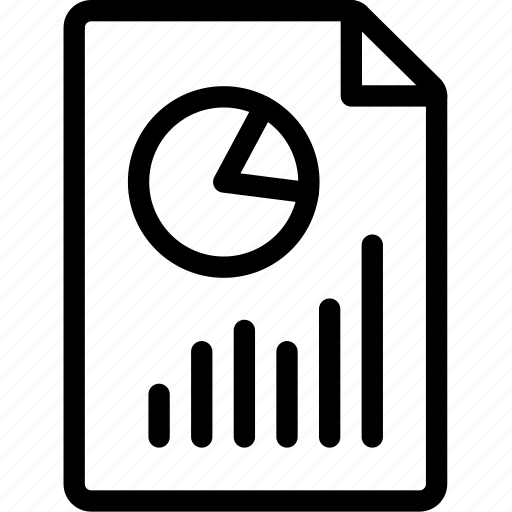analytics, metrics, report icon