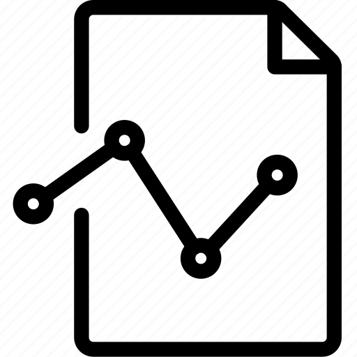 analytics, report icon