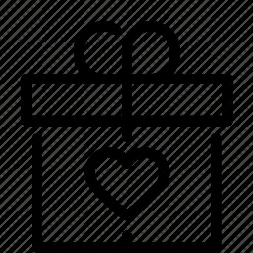 Box, delivery, valentine icon - Download on Iconfinder