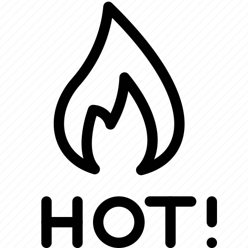hot, sale icon