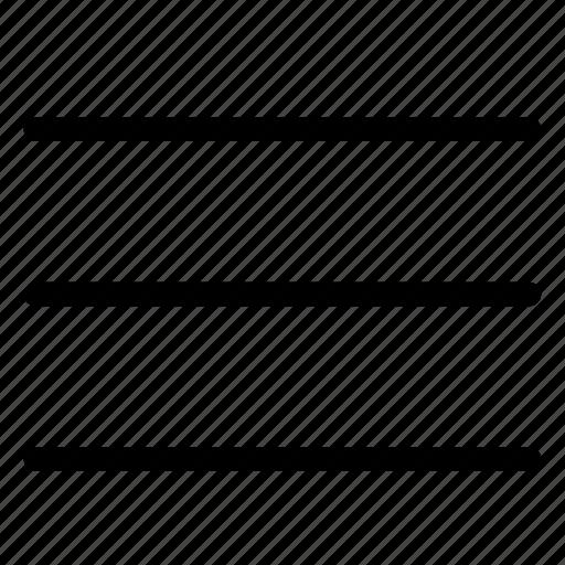 hambuger, list, menu icon